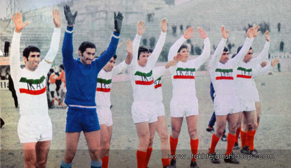 Iran and Kuwait 1972 Olympic Games Munich