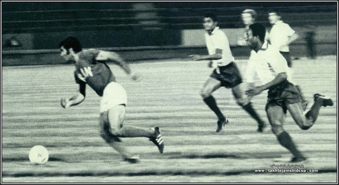 Iran vs Portugal 1972 INDEPENDENC CUP Majid Halvaei