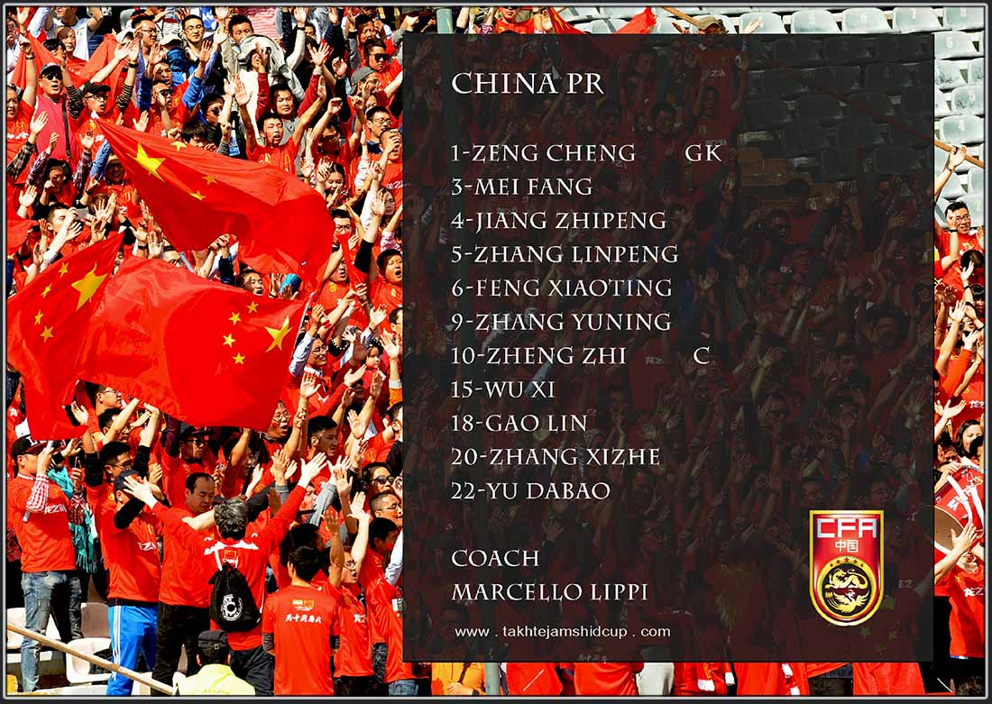 China World Cup 2018 Asian Qualifiers