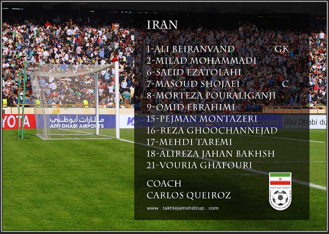 Iran vs China World Cup 2018 Asian Qualifiers