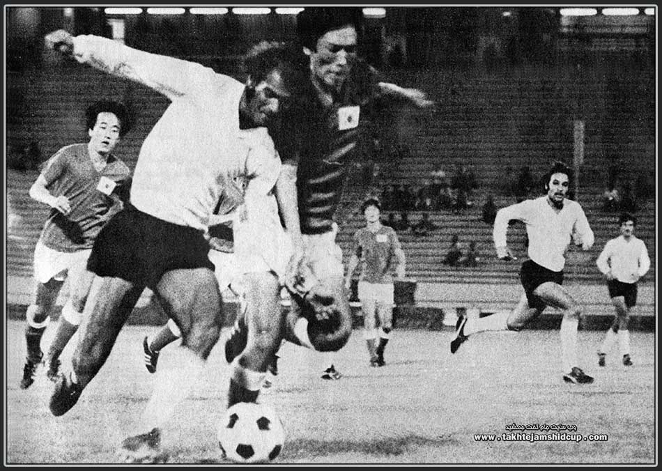 SOUTH KOREA VS IRAG ASIAN GAMES 1974 FOOTBALL