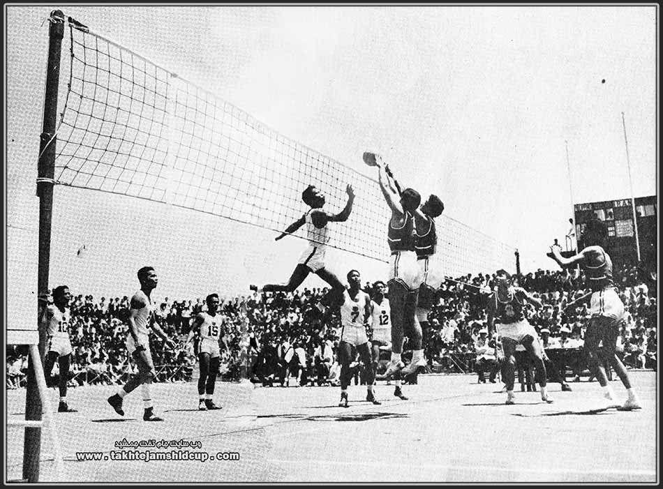 Volleyball at the 1958 Asian Games, Iran and Philippines