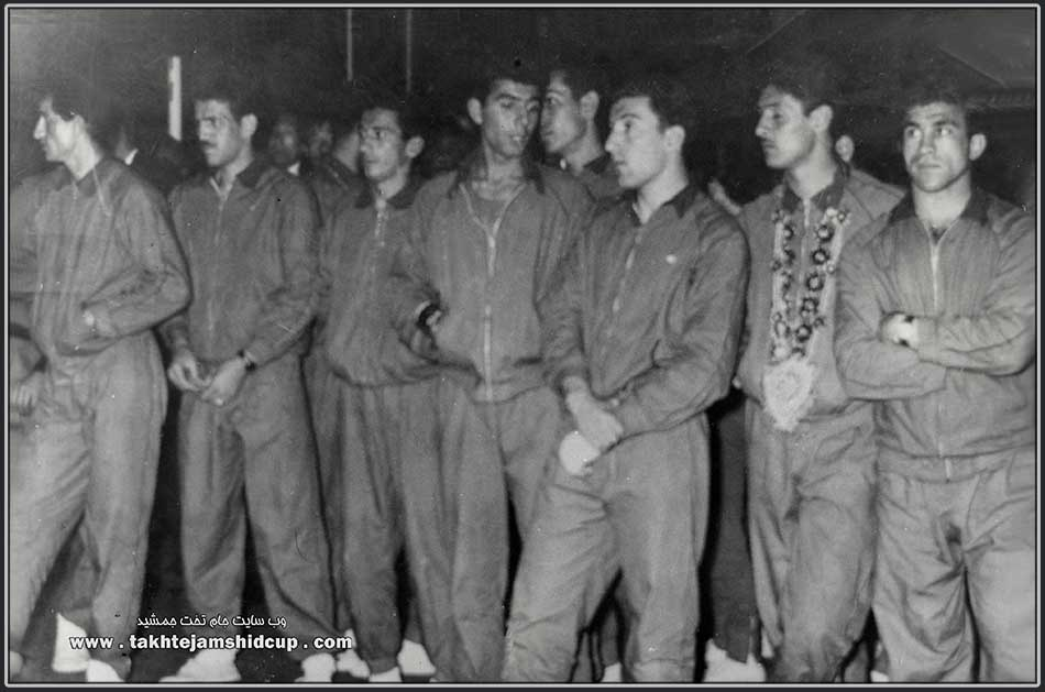 Iran volleyball Olympic qualifying 1964 Tokyo - New Delhi , Decembe r 1963 closing