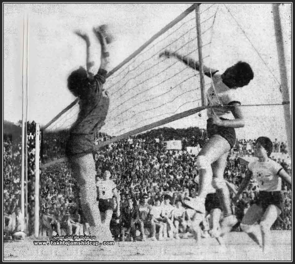 Asian Women's Volleyball - Olympic qualifiers Tokyo - New Delhi, December 1963