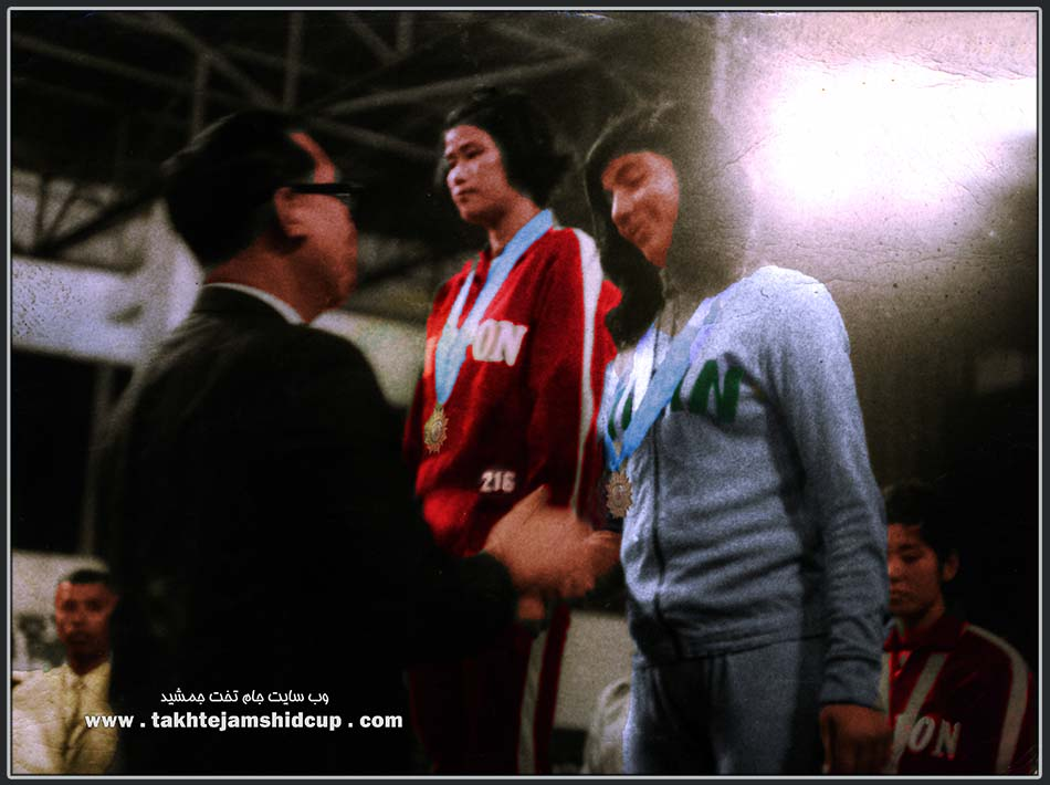 Women's Volleyball Asian Games 1966