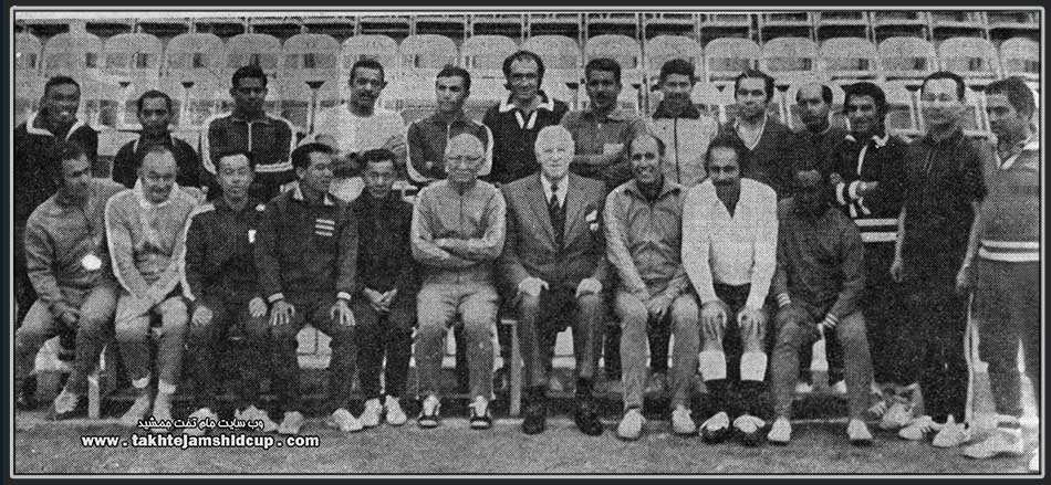 referees  Young Asian Football Tournament in 1973