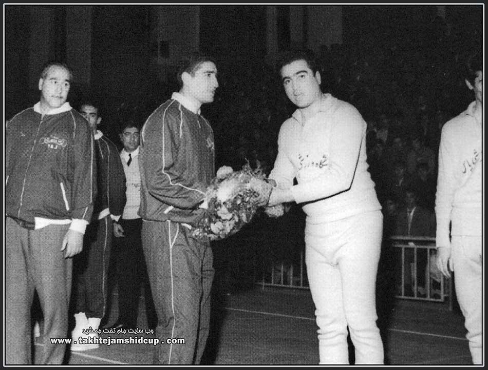 مسعود ماهتابانی و محمود مشحون