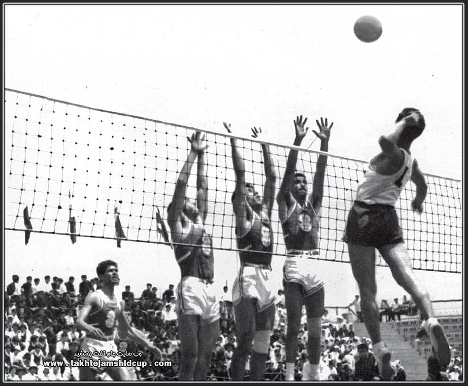 Volleyball at the 1958 Asian Games والیبال بازیهای آسیایی 1958 توکیو