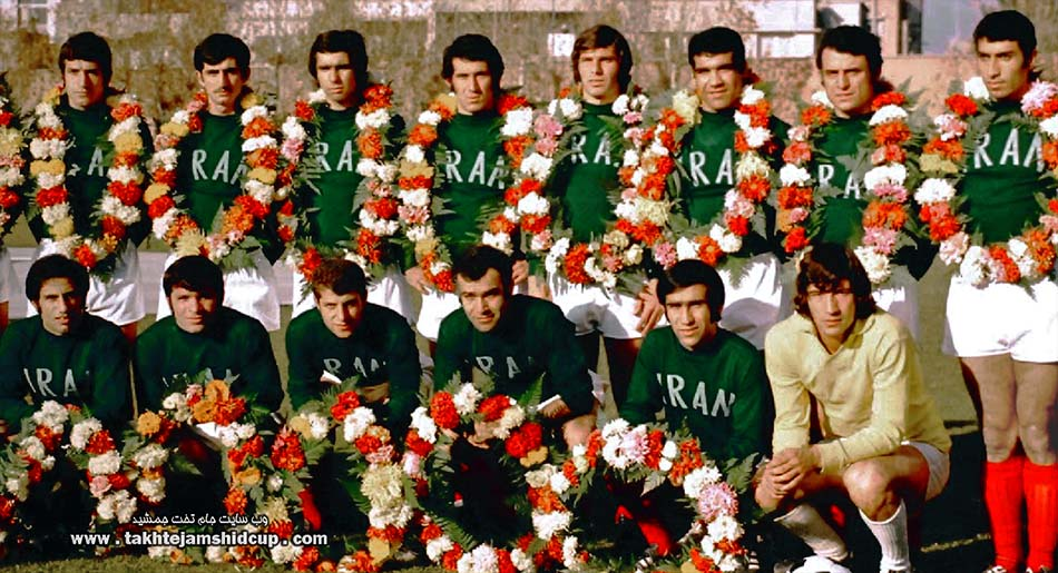 Iran national football team 1972 Munich Olympic qualifiers تیم ملی مقدماتی المپیگ مونیخ