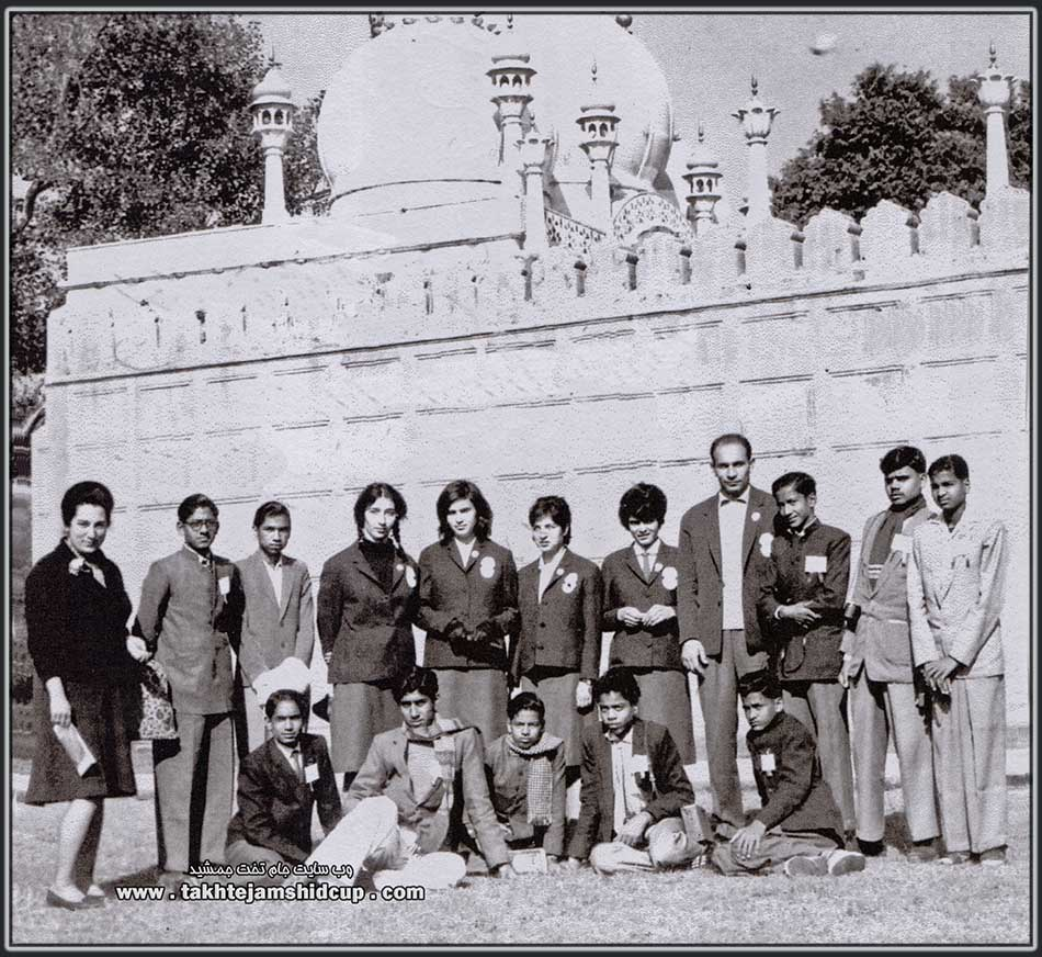 Iranian women volleyball Iran - Olympic qualifying Tokyo - New Delhi, December 1963