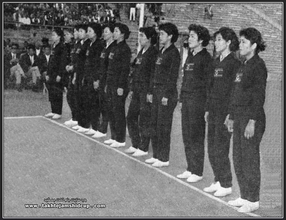 North Korean women's volleyball , an Olympic qualifying Tokyo 1964  북한 여자 배구 , 올림픽 예선 1964 도쿄 bughan yeoja baegu , ollimpig yeseon 1964 dokyo