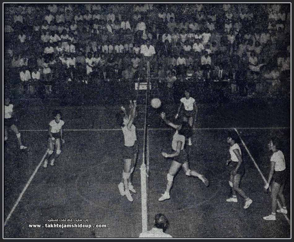 Japan women's national volleyball team 1963 in Tehran