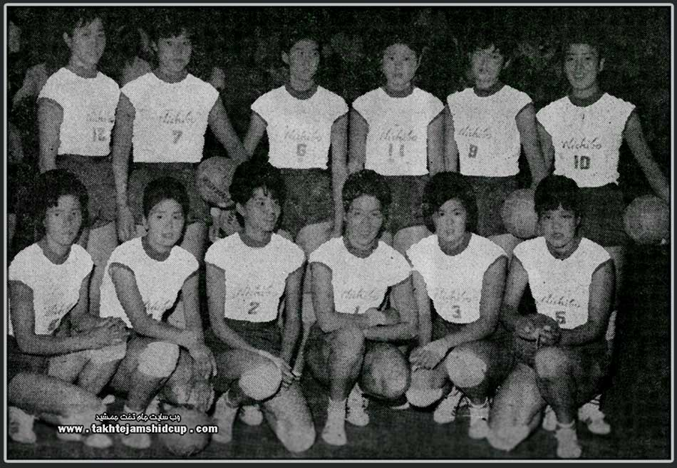 Japan women's national volleyball team in 1963