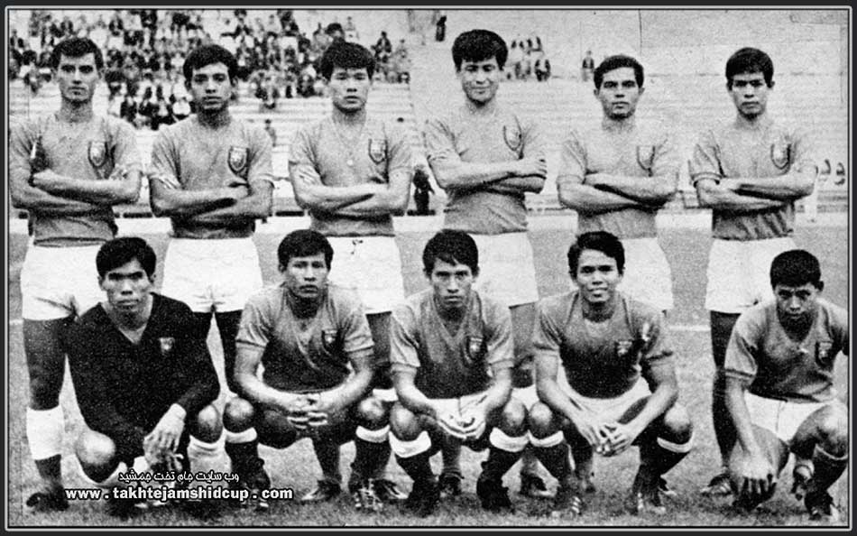 Burma's national youth team  1973