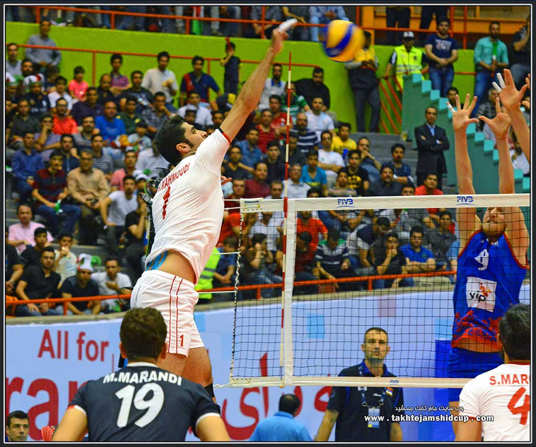 شهرام محمودی Shahram Mahmoudi Iran vs Serbia 2016 FIVB Volleyball World League