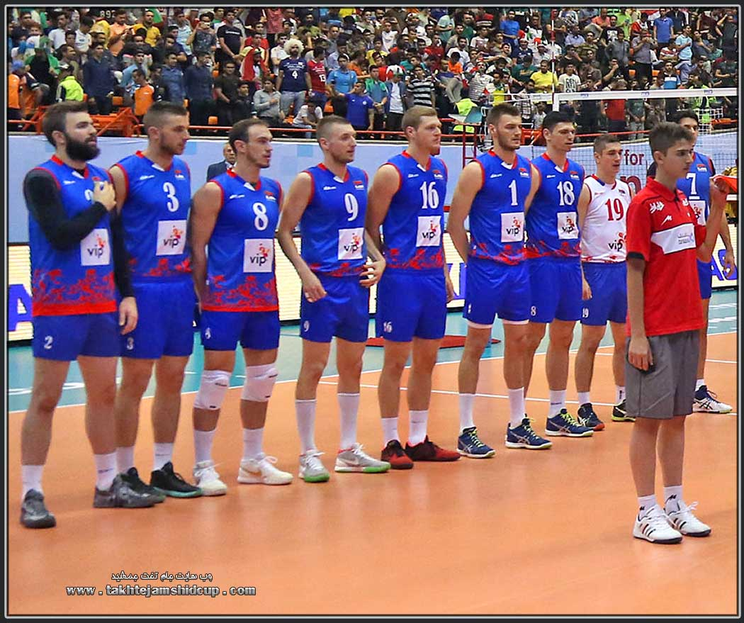 Serbia 's national volleyball team in 2016 World League