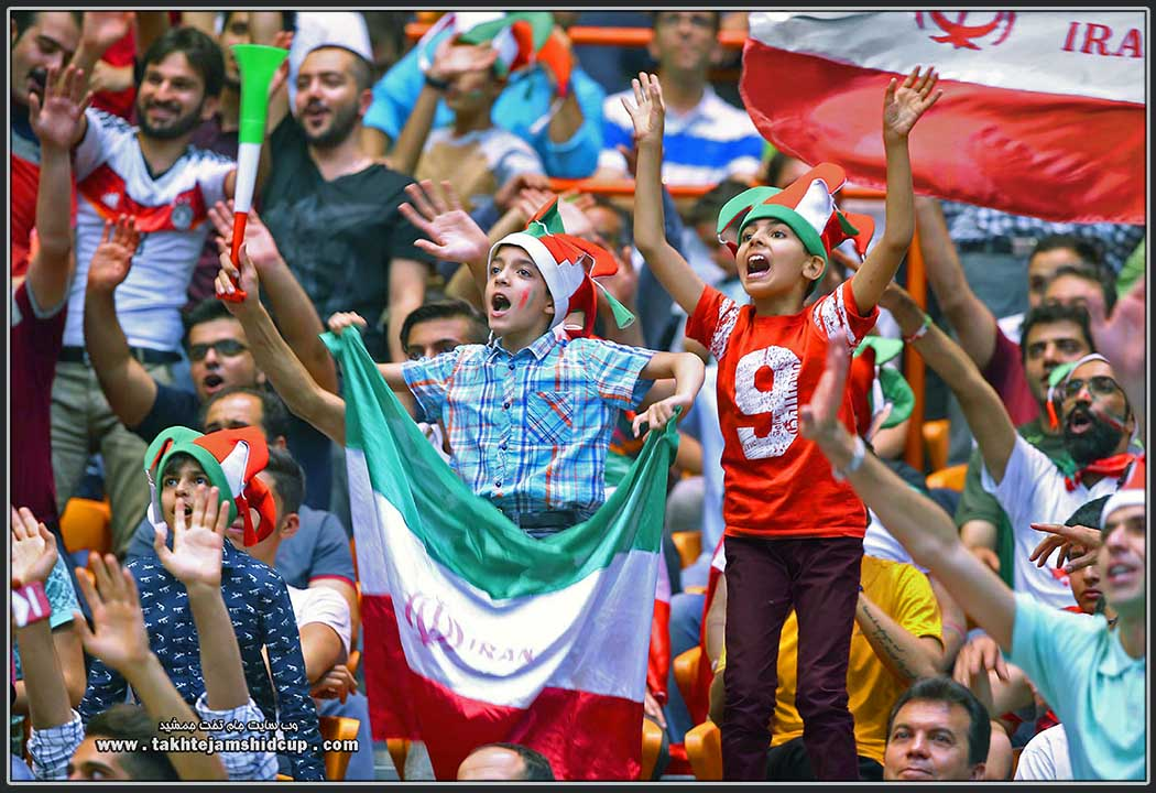 Iran and Serbia 2016 FIVB Volleyball World