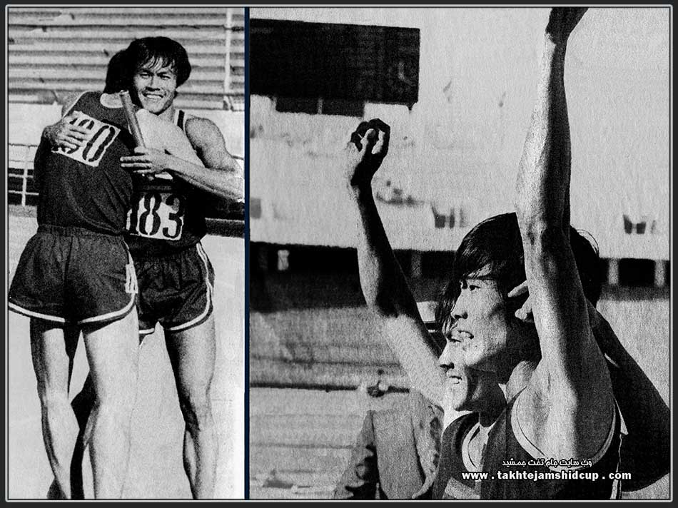 Anat Ratanapol & Suchart Jairsuraparp Asian Games 1974