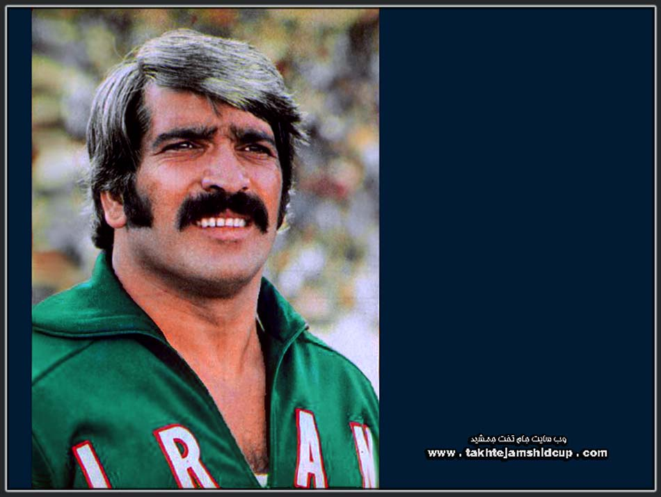 جلال کشمیری Jalal Keshmiri champion Shot put 1974 Asian Games