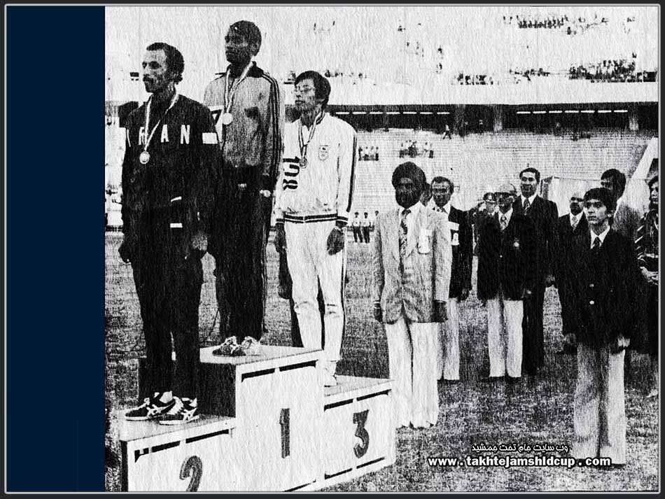 Wickremasinghe Wimaladasa  Runner Sri Lanka - Tehran Asian Games 400 meters champion 1974