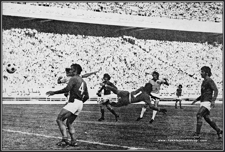 Johnny Warren  Iran vs Australia 1973 FIFA World Cup qualification جانی وارن ایران و استرالیا 1973